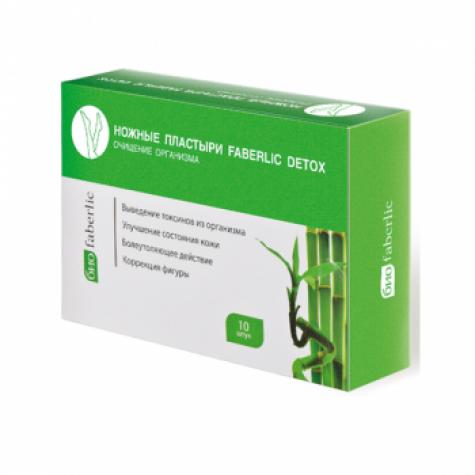 Ножные пластыри «Detox» Faberlic