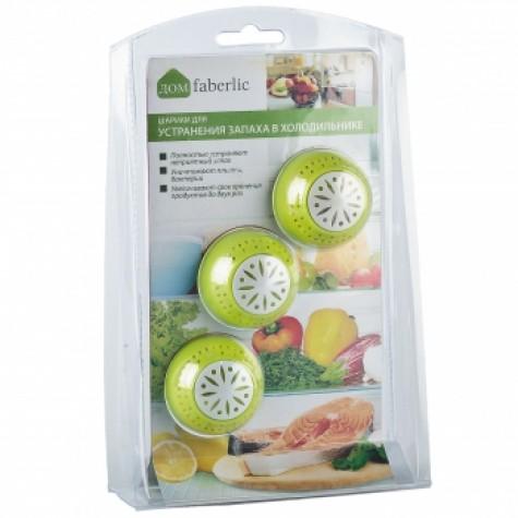 Шарики для устранения запаха в холодильнике Faberlic