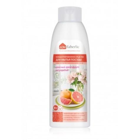 Средство для мытья посуды Faberlic с ароматом красного грейпфрута