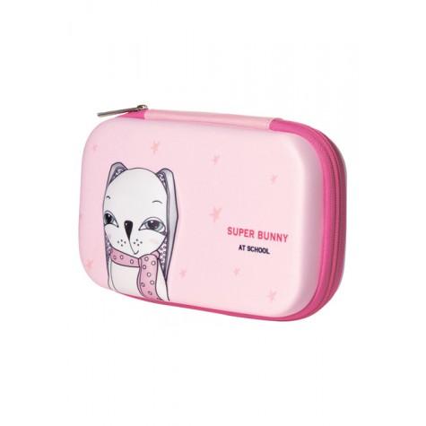 Пенал «Bunny» Faberlic цвет Розовый