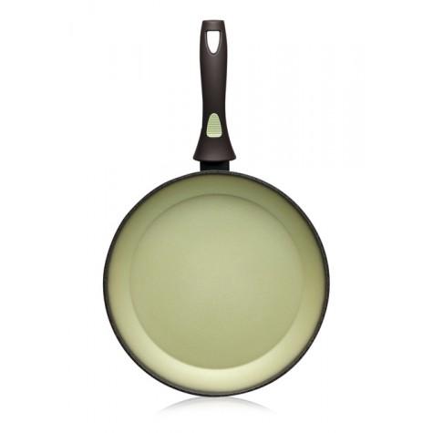 Сковорода с антипригарным покрытием Faberlic цвет Авокадо, 20 см