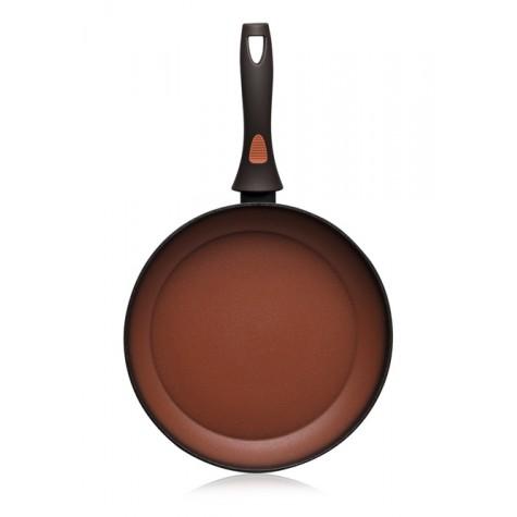 Сковорода с антипригарным покрытием Faberlic цвет Терракотовый, 28 см