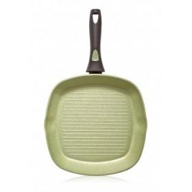 Сковорода-гриль с антипригарным покрытием Faberlic цвет Авокадо, 28см