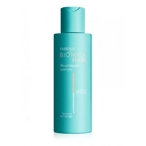 Мицеллярный шампунь для чувствительной кожи головы «Biomica» Faberlic