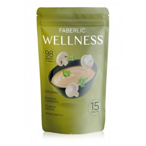 Сухой белковый суп Wellness со вкусом «Грибы со сливками» Faberlic