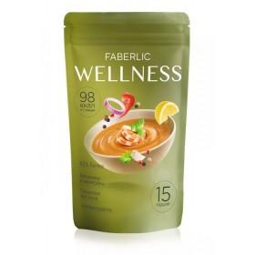 Сухой белковый суп Wellness со вкусом «Средиземноморский с креветками» Faberlic