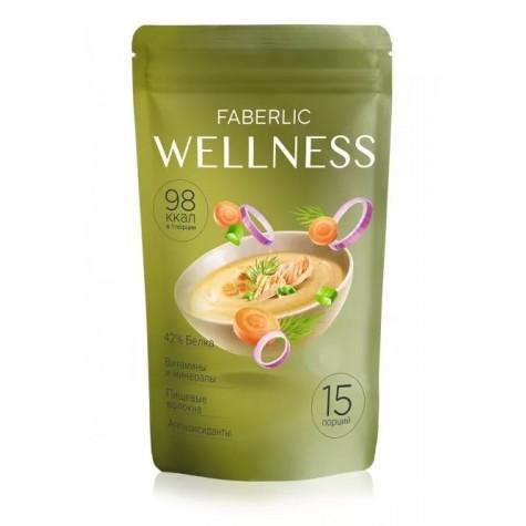 Сухой белковый суп Wellness со вкусом «Куриный с зеленью» Faberlic