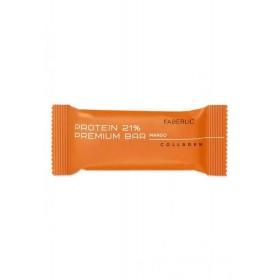 Протеиновый батончик «Protein Premium Bar» Faberlic со вкусом манго