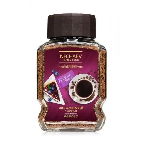 Кофе сублимированный с добавлением молотого «День»
