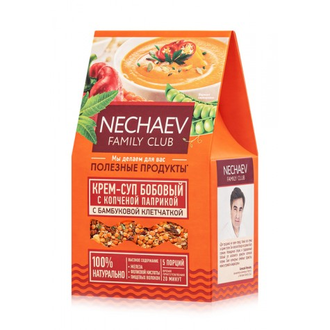 Крем-суп Faberlic бобовый с копчёной паприкой