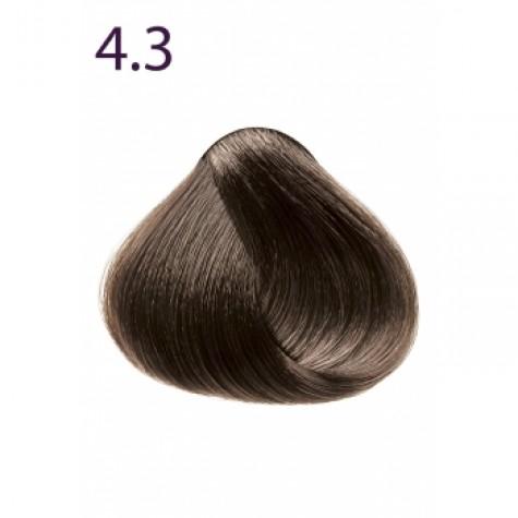 Стойкая крем-краска «Максимум цвета» Faberlic тон Каштан золотистый 4.3