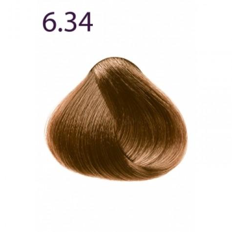 Стойкая крем-краска «Максимум цвета» Faberlic тон Темный блондин золотисто-медный 6.34