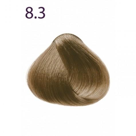 Стойкая крем-краска «Максимум цвета» Faberlic тон Светлый блондин золотистый 8.3