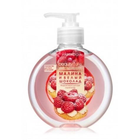 Жидкое мыло для рук «Малина и белый шоколад» Faberlic