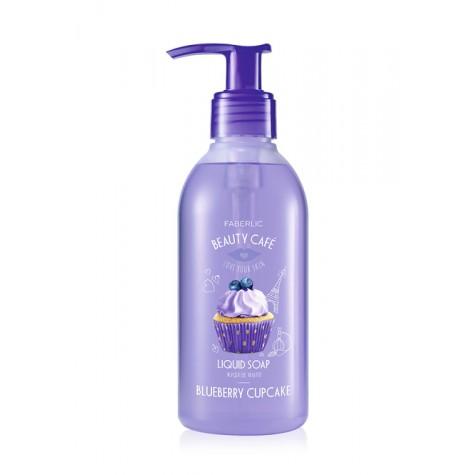 Жидкое мыло для рук «Черничный капкейк» Faberlic