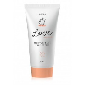 Увлажняющий крем для лица «L.OVE» Faberlic