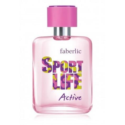 Туалетная вода для женщин «Sportlife Active» Faberlic