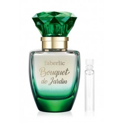 Пробник парфюмерной воды для женщин «Bouquet de Jardin» Faberlic