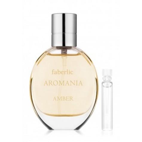 Пробник туалетной воды для женщин «Aromania Amber» Faberlic