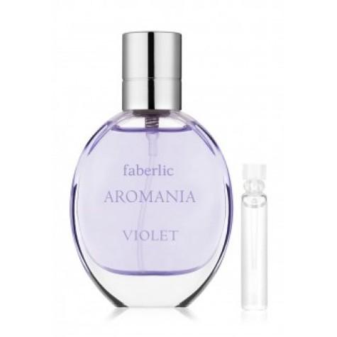 Пробник туалетной воды для женщин «Aromania Violet» Faberlic