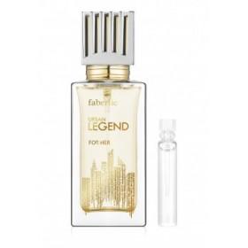 Пробник парфюмерной воды для женщин «Urban Legend» Faberlic