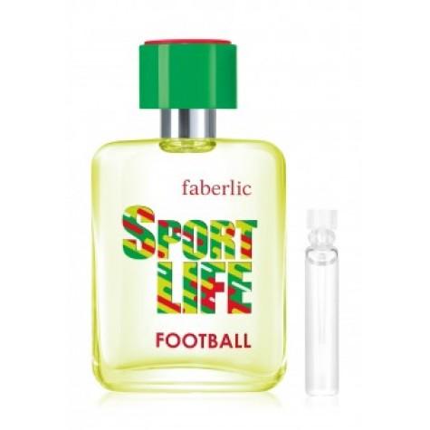Пробник туалетной воды для мужчин «Sportlife Football» Faberlic
