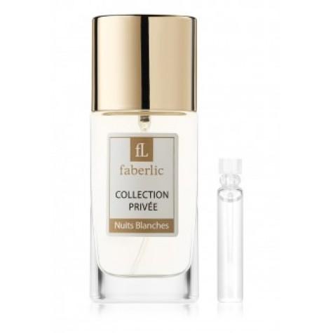 Пробник парфюмерной воды для женщин «Nuits Blanches» Faberlic