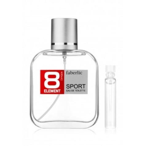 Пробник туалетной воды для мужчин «8 ELEMENT SPORT» Faberlic