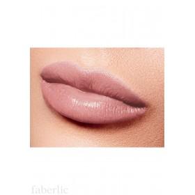 Полуматовая губная помада «Бархатный сезон» Faberlic тон Чувственный бежевый