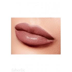 Полуматовая губная помада «Бархатный сезон» Faberlic тон Сливочный кофейный