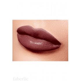 Полуматовая губная помада «Бархатный сезон» Faberlic тон Благородный шоколадный