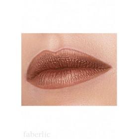Жидкая помада для губ «Матовый металлик» Faberlic тон Персиковый