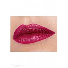 Жидкая помада для губ «Матовый металлик» Faberlic тон Темно-алый
