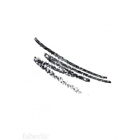 Карандаш для глаз «Звездный автограф» Faberlic тон Сияющий черный
