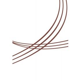 Маркер для бровей «Glam Outfit» Faberlic тон Тёмно-коричневый