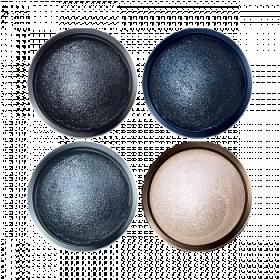 Запеченные тени для век «Ослепительный взгляд» Faberlic тон Сапфировое счастье