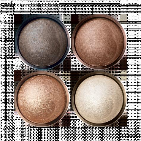 Запеченные тени для век «Ослепительный взгляд» Faberlic тон Бежевое очарование