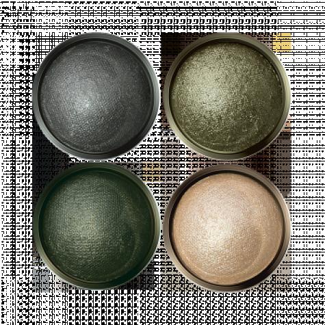 Запеченные тени для век «Ослепительный взгляд» Faberlic тон Оливковая нежность