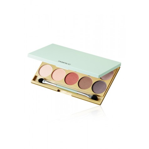 Палетка теней для век «Celebrating Makeup» Faberlic