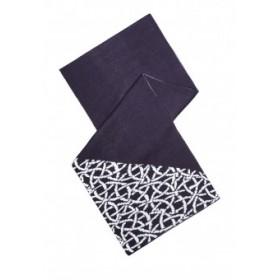 Мужской шарф с принтом Faberlic цвет Синий