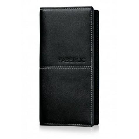 Портмоне мужское «Блэк» Faberlic цвет Чёрный