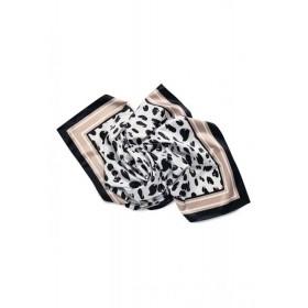 Сатиновый платок Faberlic цвет Чёрно-белый