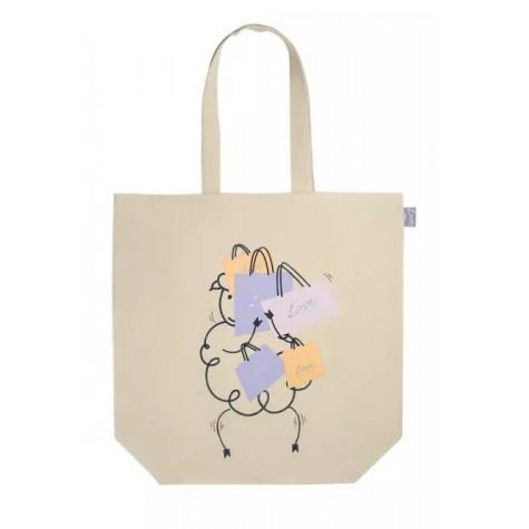 Сумка-шоппер «Овечка» Faberlic цвет Бежевый