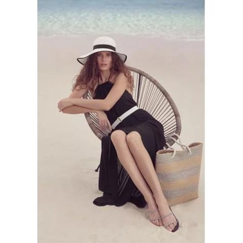 Пляжная сумка Faberlic цвет Бежево-серебристый