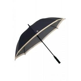 Зонт-трость складной Faberlic цвет Чёрно-бежевый