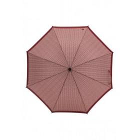 Зонт-трость складной Faberlic цвет Бордово-бежевый