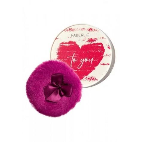 Мерцающая рассыпчатая пудра для лица и тела «One love» Faberlic