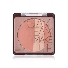 Румяна для лица «Glam Cheek» Faberlic тон Пурпурный