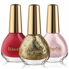 Лак для ногтей «Лучший сценарий» Faberlic тон Эффектный розовый