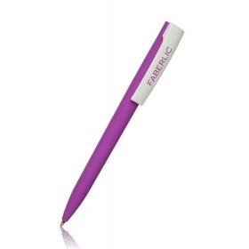 Ручка шариковая ZETA Soft сиреневая
